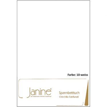 """Edelflanell-Leintuch Janine """"Chinchilla"""" mit Gummibund"""