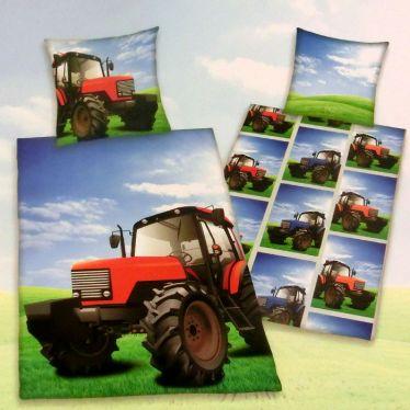 Bettwäsche Traktor Baumwolle 140/200, 70/90cm