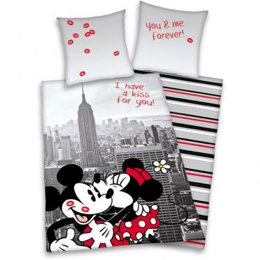 Bettwäsche Mickey und Minnie New York