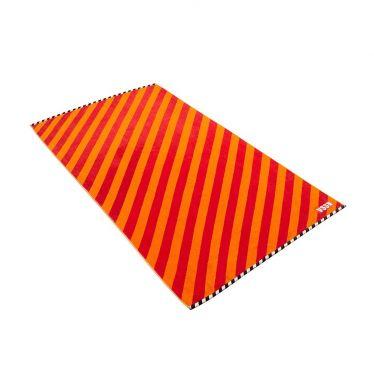 """Strandtuch Vossen """"Stripes orange"""""""
