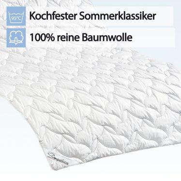 Sommerbett Baumwolle