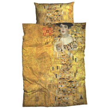 Satin-Bettwäsche Gustav Klimt, Adele Bloch