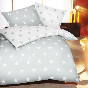 """Feinbiber-Wende-Bettwäsche """"Stars"""""""