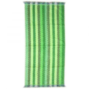 """Handtuch """"Stripes green"""" Übersicht"""