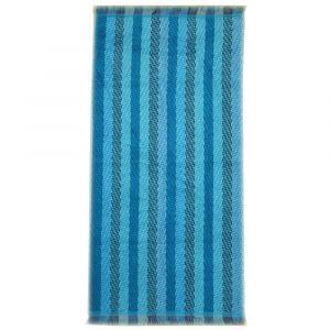 """Handtuch """"Stripes blue"""" Übersicht"""
