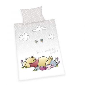 """Gitterbett-Bettwäsche """"Winnie Pooh"""""""