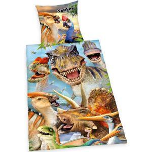 "Bettwäsche Herding ""Selfies Dinosaurier"""