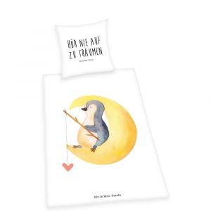 """Wende-Bettwäsche Herding Mr & Mrs Panda """"Pinguin"""""""