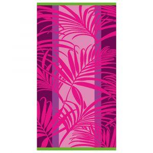 """Strandtuch """"Palmenblätter pink"""""""