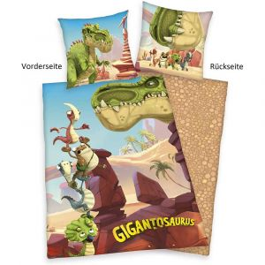 """Wende-Bettwäsche Herding """"Gigantosaurus"""""""
