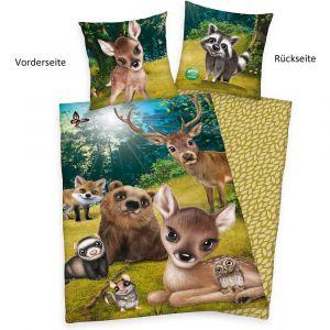 """Wende-Bettwäsche Herding """"Animal Club Forest"""""""