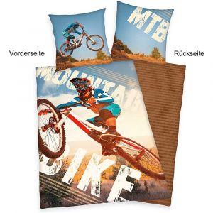 """Wende-Bettwäsche Herding """"Mountainbike"""""""
