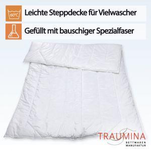 """Fasersteppbett """"Exclusive PLUS Medium WK2""""-Babydecke (ca. 80x80 cm)"""