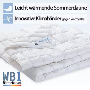 Sommersteppbett Dormabell Daune Edition WB1